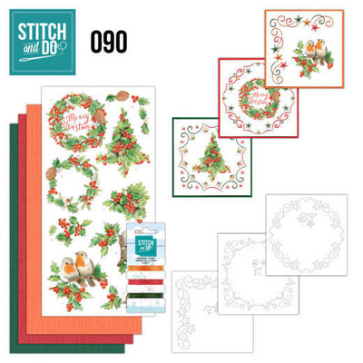 Stitch and Do 90 - Merry Christmas STDO090