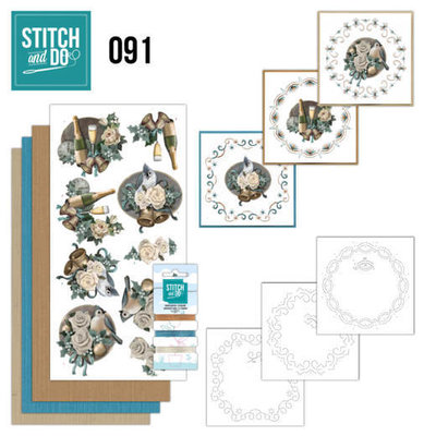 Stitch and Do 91 - Christmas Wishes STDO091