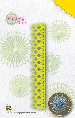 Nellies Folding Dies - sharp point NFD007