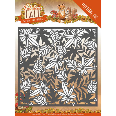 Dies - Yvonne Creations - Fabulous Fall - Autumn Frame YCD10147