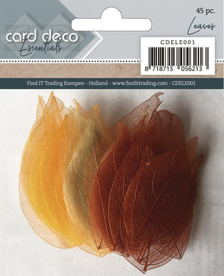 Card Deco Essentials - Dryed Leaves CDELE001