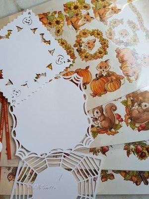 Oplegkaart set nr 2 halloween