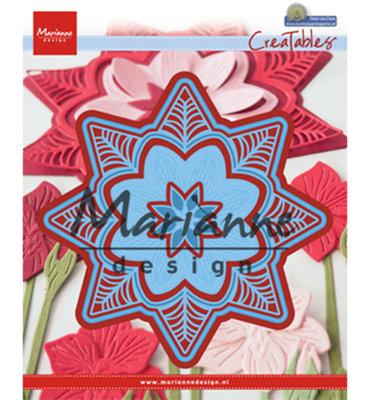 Marianne desgn - LR0540 - Marianne Design Creatable Petra's botanical star