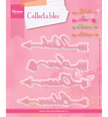 Marianne desgn - COL1458 - Arrow sentiments
