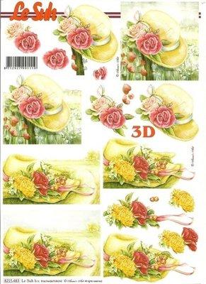 Le Suh hoed met rozen 8215.483