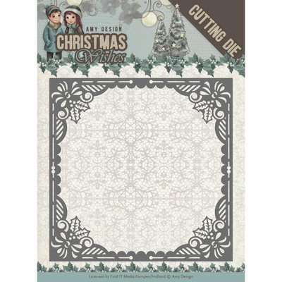 Dies - Amy Design - Christmas Wishes - Baubles Frame ADD10147