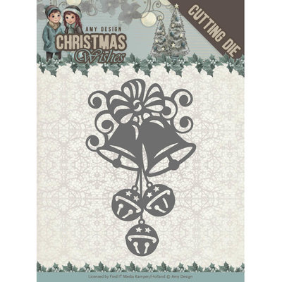 Dies - Amy Design - Christmas Wishes - Christmas Bells ADD10151