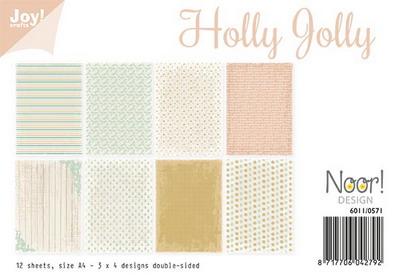 Joy! papierset holly jolly6011/0571