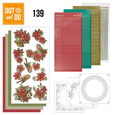 Dot en Do 139 Poinsettia Christmas  DODO139