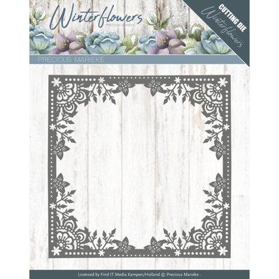 Dies - Precious Marieke - Winter Flowers - Ice Flower Frame PM10138