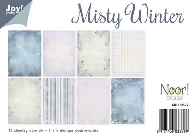 Joy! papierset Noor misty winter 6011/0527