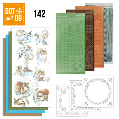 Dot & Do 142 Winter Woodland DODO142
