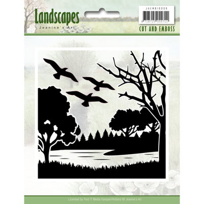 Cut and Embossing folder - Jeanine's Art - Landscapes JAEMB10006