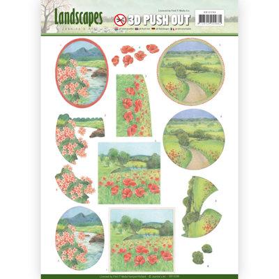 3D Pushout - Jeanine's Art - Landscapes - Summer Landscapes SB10296