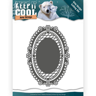 Dies - Amy Design - Keep it Cool - Keep it Oval ADD10161