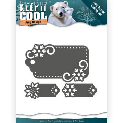 Dies - Amy Design - Keep it Cool - Cool Tags ADD10164