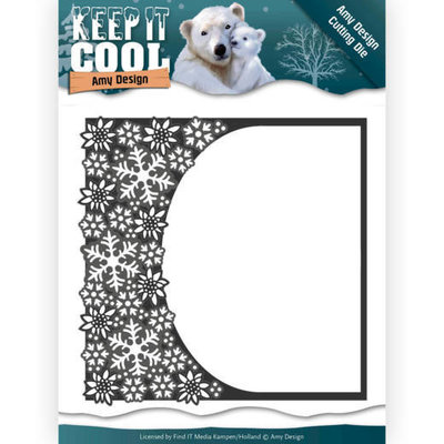 Dies - Amy Design - Keep it Cool - Cool Rounded Frame ADD10159
