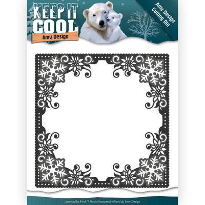 Dies - Amy Design - Keep it Cool - Cool Square Frame ADD10158
