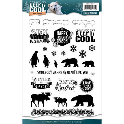 Clearstamp - Amy Design - Keep it Cool ADCS10056