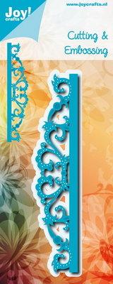Joy! stencil Noor rand met swirls 6002/1197