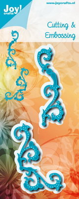 Joy! stencil Noor swirls  6002/1199