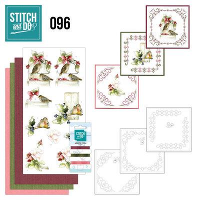 Stitch and Do 96 - Winter Birds STDO096