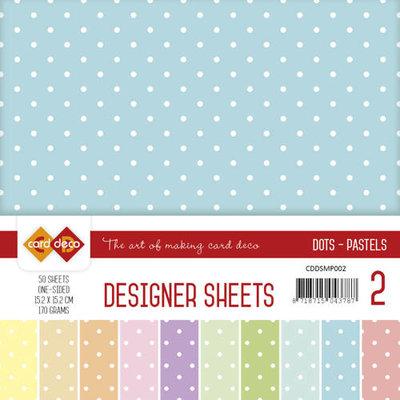 Designer Sheets Mega Pack 2 Pastels CDDSMP002