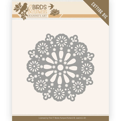 JAD10060 Dies - Jeanine's Art - Birds and Flowers - Daisy Circle