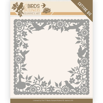 JAD10057 Dies - Jeanine's Art - Birds and Flowers - Birds Frame