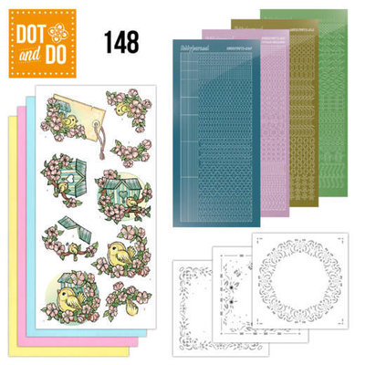 DODO148 Dot and Do 148 Spring Birdhouses