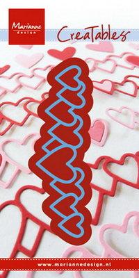 Marianne desgn - LR0450 -   Creatables stencil lots of love