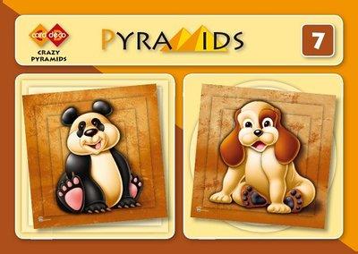 PYM007 3D boekje Pyramids 7 - Crazy Pyramids