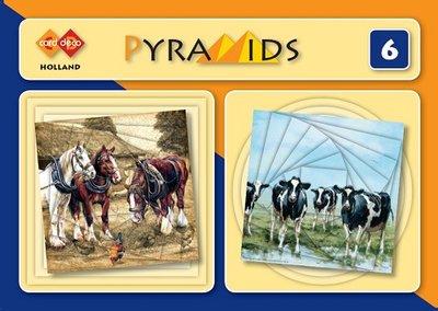 PYM006 3D boekje Pyramids 6 - Holland