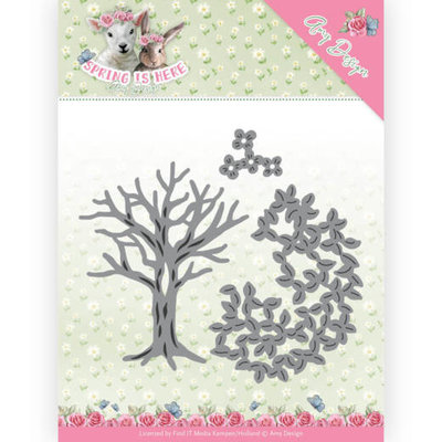 ADD10168 Dies - Amy Design - Spring is Here - Spring Tree