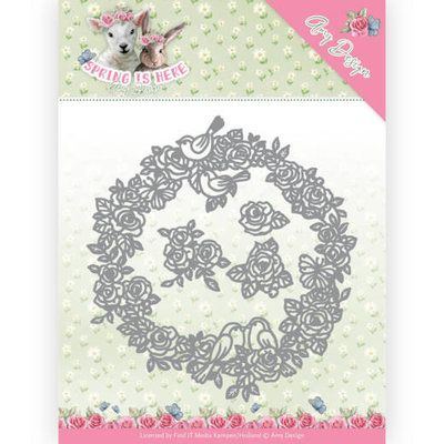 ADD10166 Dies - Amy Design - Spring is Here - Circle of Roses