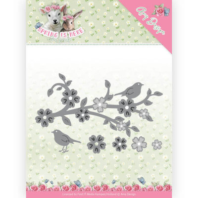 ADD10171 Dies - Amy Design - Spring is Here - Blossom Branch
