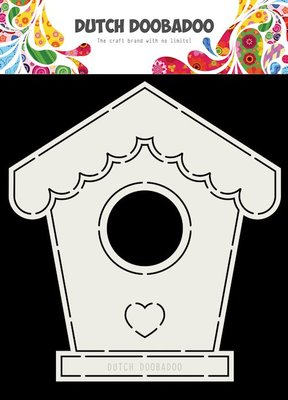 DDBD Dutch Card Art Birdhouse A5  470.713.710
