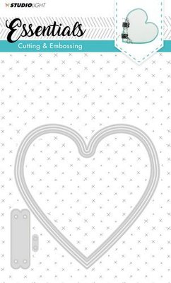 STENCILSL166 - Studio Light - Embossing Die Cut Stencil - Essentials nr.166