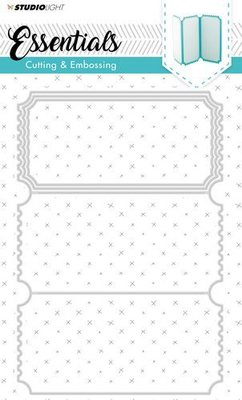 Studio Light - Embossing Die Cut Stencil - Essentials nr.170 - STENCILSL170