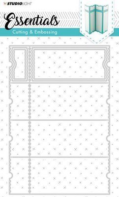 Studio Light - Embossing Die Cut Stencil - Essentials nr.169 - STENCILSL169