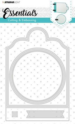 Studio Light - Embossing Die Cut Stencil-  Essentials nr.165 - STENCILSL165