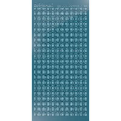 HSPM015 Hobbydots sticker Sparkles 01 Mirror Ice