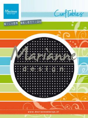 Marianne desgn - Craftables stencil Cross Stitch circle CR1465