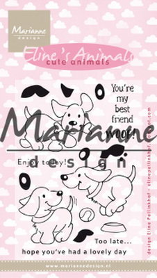 Marianne design, Eline's cute puppies EC0177