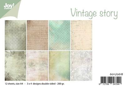 Joy! papierset Vintage story 6011/0618