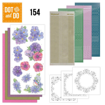 DODO154 Dot and Do 154 Pink Flowers