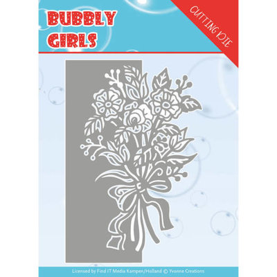 YCD10168 Dies - Yvonne Creations - Bubbly girls- Bouquet