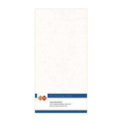 LKK-4K32 Linnenkarton - Vierkant - Gebroken wit