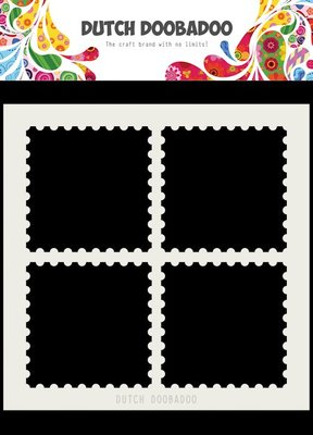 DDBD Dutch Mask Art Postal stamps 150x150 mm  470.715.616