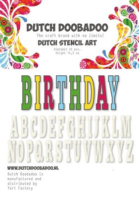 DDBD Dutch Art Alphabet 5  470.990.113